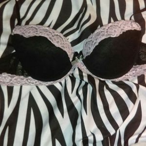 Sophie B black bra
